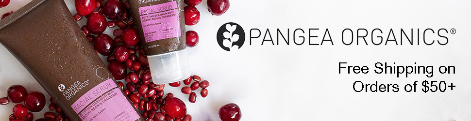 Receive Free Shipping on Orders of $50+ at Pangea Organics!