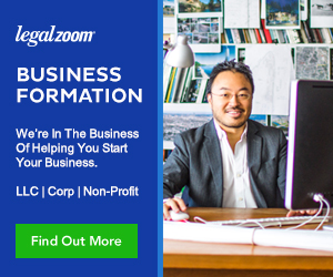legalzoom business starting