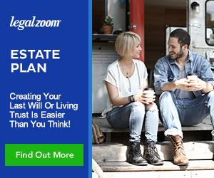 wills legalzoom Estate Plan