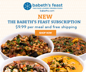 Babeth's Feast Subscription meal delivery
