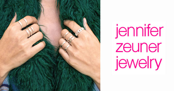 Shop Jennifer Zeuner Jewelry Today!