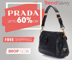 Prada handbags up to 60% off