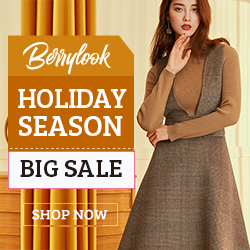 Holiday Seasons Pre Big Sale at berrylook.com