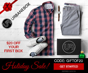 Urbane Box Coupon Code: GIFTOF20