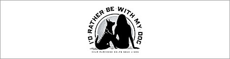 I'd Rather Be With My Dog | Apparel For Dog Lovers