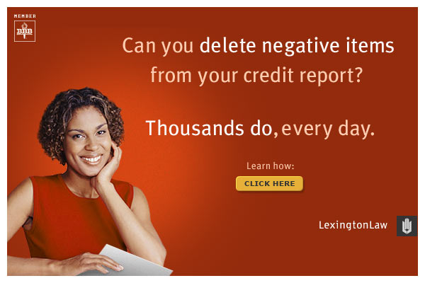 Repair Your Credit Today With LexingtonLaw.com!