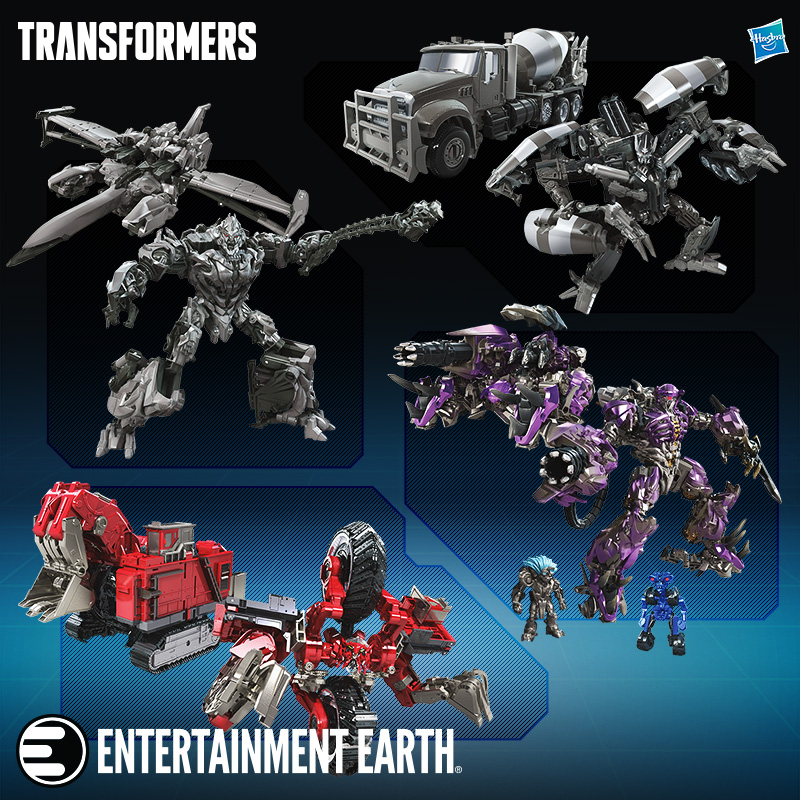 Newly Added Transformers Toys!