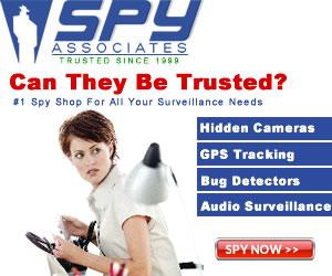 Spy Associates #1 Spy Shop For All Your Surveillance Needs Since 1999