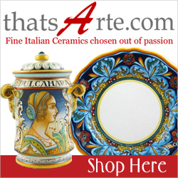 thatsArte.com - Fine Italian Ceramics chosen out of passion