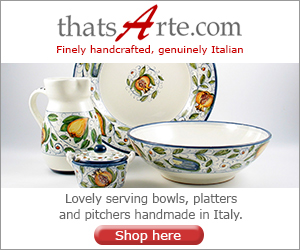Handmade Italian Serveware: Serving Bowls, Platters, Dishes