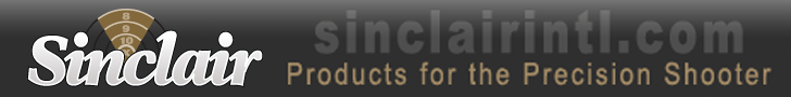 Precision Shooting Products Available at Sinclairintl.com