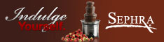 Sephra Chocolate Fondue Fountains