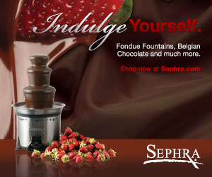 Sephra Chocolate Fountains with WhisperQuiet Technology