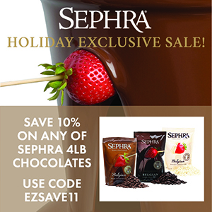 10% Off on all 4lb Sephra Chocolates
