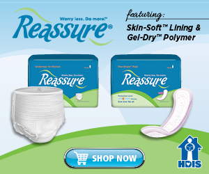 Reassure Pads and Underwear