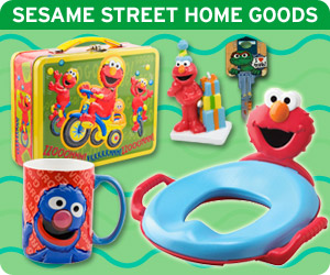 Make everyday a Sesame Street day with dozens of home goods available in the Sesame Street Store!