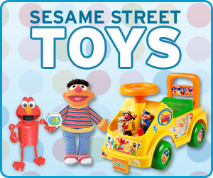 Have fun with dozens of toys and plushes available in the Sesame Street Store!