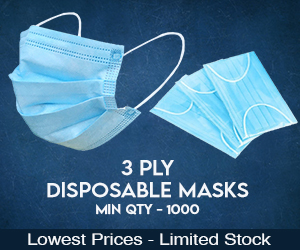 3 Ply Protective Masks.