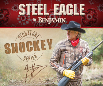 Jim Shockey Steel Eagle Air Rifle