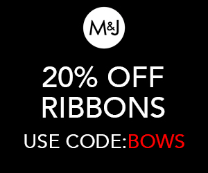 20% off Ribbons