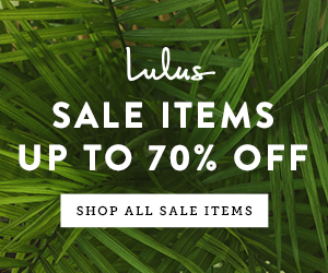 20%, 50%, Up to 70% Off On Dresses, Clothing, Shoes & More!! - Lulus.com