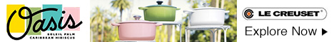Explore the new Oasis Collection at LeCreuset.com!