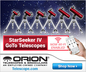 Orion WiFi Enabled Telescopes
