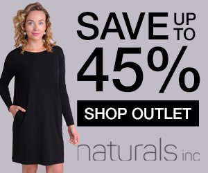 Save up to 45% off sale items at Naturals!