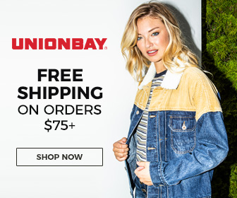 Free Shipping on Orders $75+ at Unionbay!