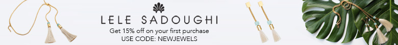 15% off on your first purchase with code: new jewels