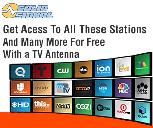 get free tv with an antenna from solid signal
