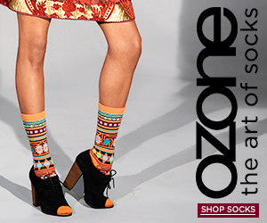 Ozone Socks - The Art of Socks - Shop Women's Socks!