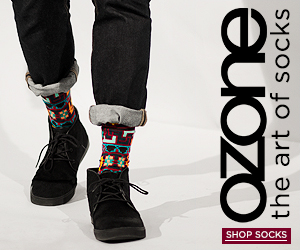 Ozone Socks - The Art of Socks - Shop Men's Socks!