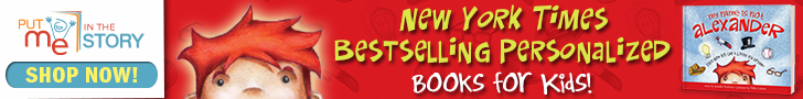 New York Times bestselling books personalized for YOUR child
