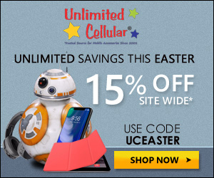 Unlimitedcellular Easter Offer - 15% OFF Site Wide