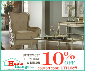 10% off uttermost home decor