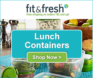 Shop Now for the Best Lunch Containers at Fit & Fresh.