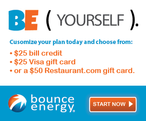 Customize your plan today with Bounce Energy!