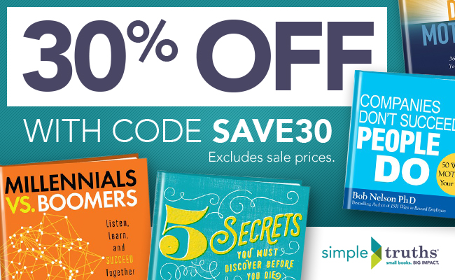 30% Off Business & Inspiration Books