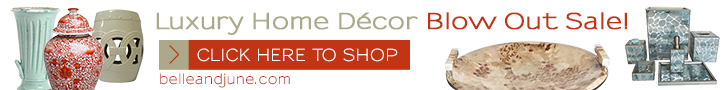 Up to 60% Off Luxury Home Decor