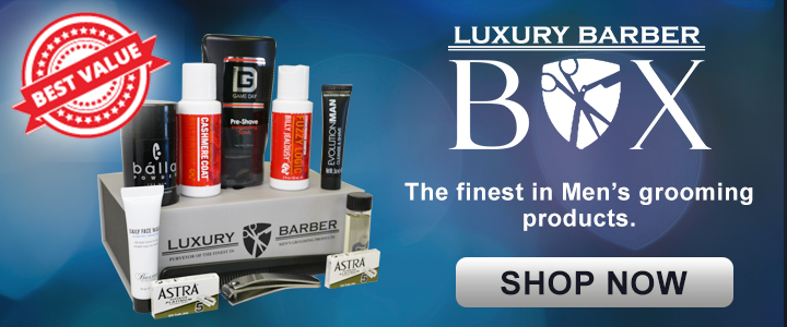 Luxury Barber Box Subscription Box for Men's grooming