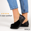 5 Star review comfortable womens shoe