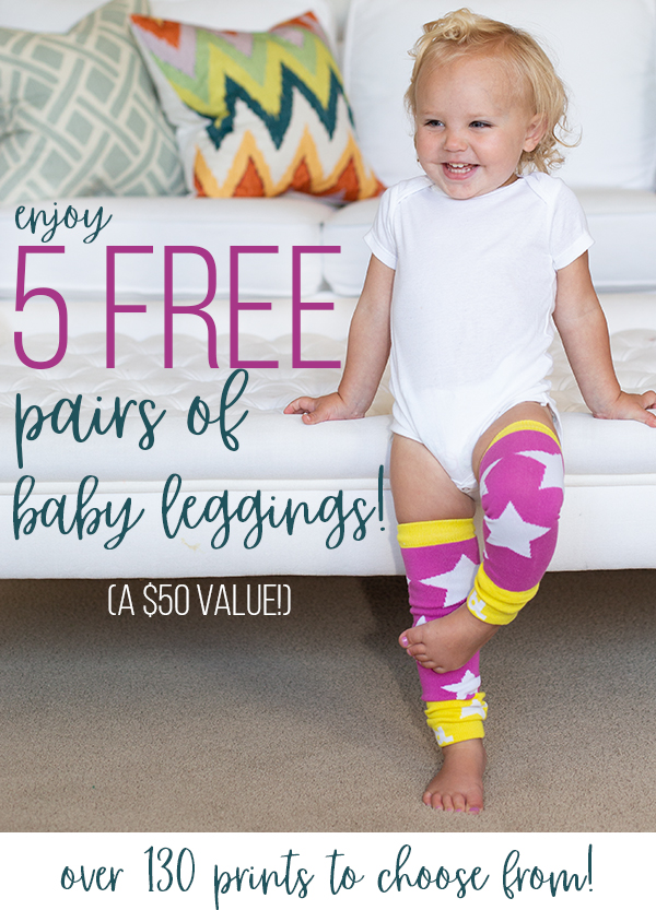 Get 5 Free Pairs of Baby Leggings!