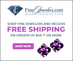 Shop Finejewelers.com Free Shipping on all orders of $49.95 or More!