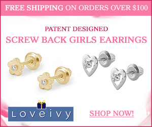 Shop Loveivy's Patent Designed Screw Back Earrings!