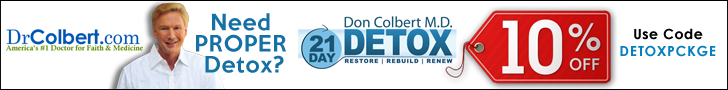 Save 10% OFF on Drcolbert's 21 Day Detox Package