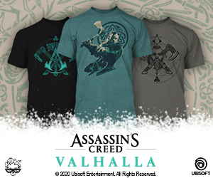 Shop official Valhalla apparel at JINX.com
