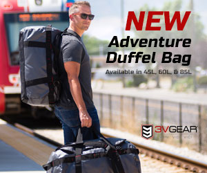 3V Gear Smuggler Adventure Duffel Bag