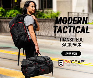 3V Gear, tactical backpack, discreet, grayman, redline, transit, edc, everyday carry, comfortable, black, red, durable, YKK, ripstop