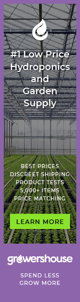Growers House - #1 Low Price Hydroponics & Garden Supply - Plant Houses and Tents, Lighting, Nutrition